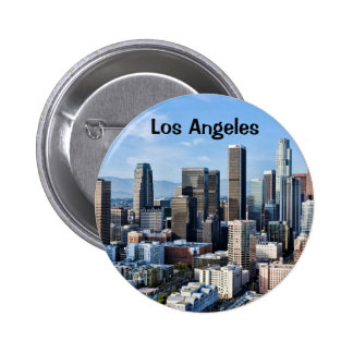 Downtown Los Angeles Daylight 2 Inch Round Button