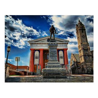 downtown Lynchburg va Postcard