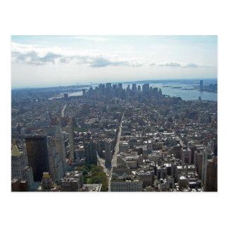 Downtown Manhattan 002 Postcard