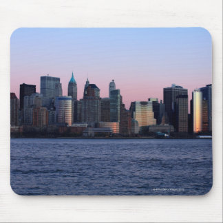 Downtown Manhattan at dusk 2 Mouse Pad