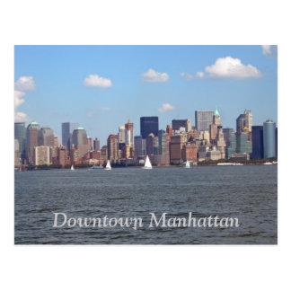 Downtown Manhattan Postcard
