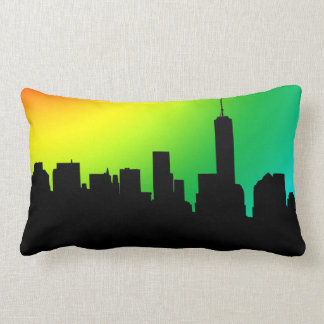 Downtown Manhatten skyline cushion