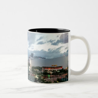 Downtown Miami Two-Tone Coffee Mug
