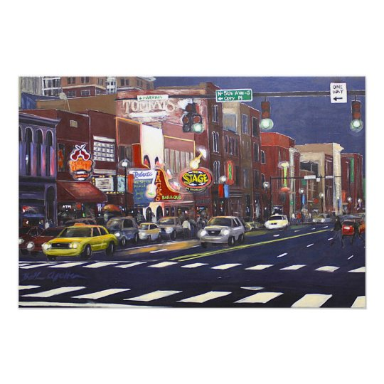 Downtown Nashville Poster
