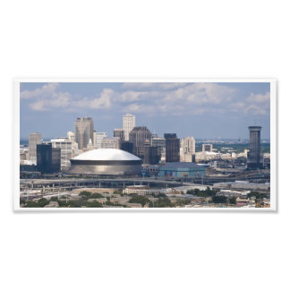 Downtown New Orleans Aerial Photo Print