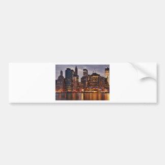 Downtown NYC Bumper Sticker