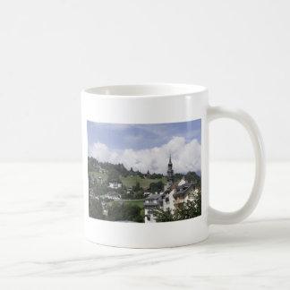 Downtown of Saint-Gervais Coffee Mug
