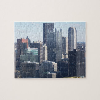 Downtown Pittsburgh Jigsaw Puzzle