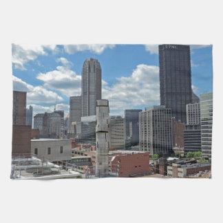 Downtown Pittsburgh Skyline Towel