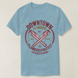 Downtown Plumbing Men's T-Shirt