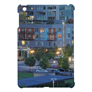 Downtown Portland at Dusk Cover For The iPad Mini