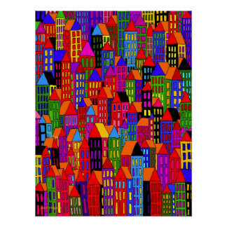 downtown  - poster