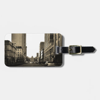 Downtown Raleigh Luggage Tag