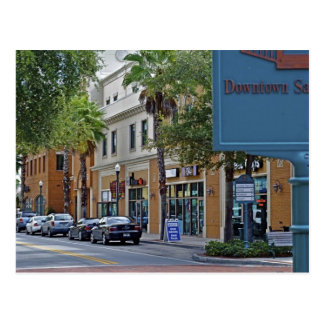 Downtown Safety Harbor Postcard