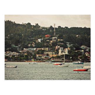 Downtown Samaná - Samaná, DR Postcard