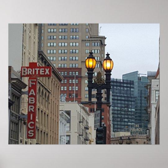 Downtown San Francisco Poster