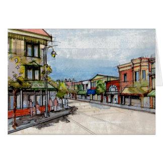 Downtown Sausalito Card