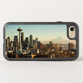 Downtown Seattle skyline and Space Needle OtterBox Symmetry iPhone 8/7 Case