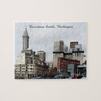 Downtown Seattle, Washington Jigsaw Puzzle