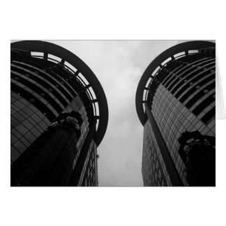 Downtown Skyscraper Card