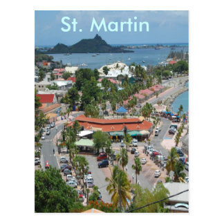 Downtown St. Martin Postcard