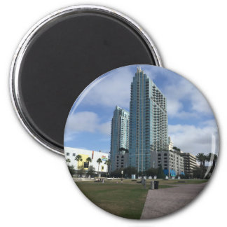 Downtown Tampa, FL Stuff! 2 Inch Round Magnet