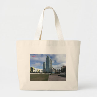 Downtown Tampa, FL Stuff! Large Tote Bag