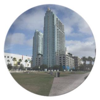 Downtown Tampa, FL Stuff! Plate