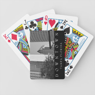 Downtown Tampa | Skyscraper Bicycle Playing Cards