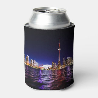 Downtown Toronto Canada cityscape at night Can Cooler