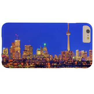 Downtown Toronto skyline at night Barely There iPhone 6 Plus Case