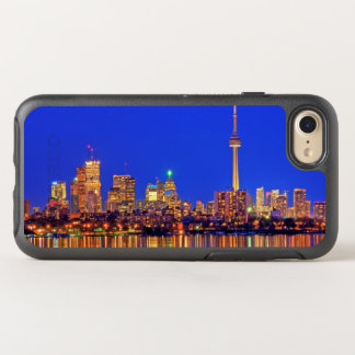 Downtown Toronto skyline at night OtterBox Symmetry iPhone 7 Case
