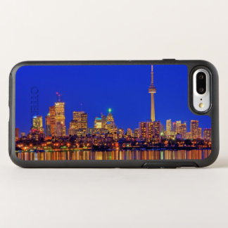 Downtown Toronto skyline at night OtterBox Symmetry iPhone 8 Plus/7 Plus Case