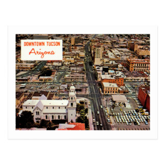 Downtown Tucson, Arizona Vintage Postcard
