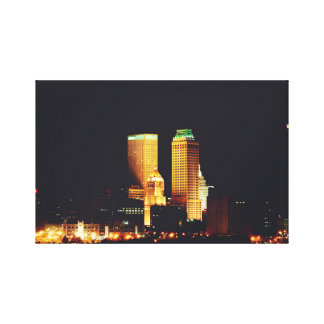 Downtown Tulsa Canvas Print