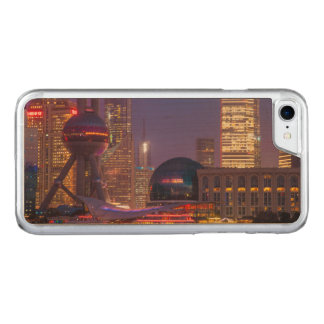 Downtown waterfront shanghai, China Carved iPhone 7 Case