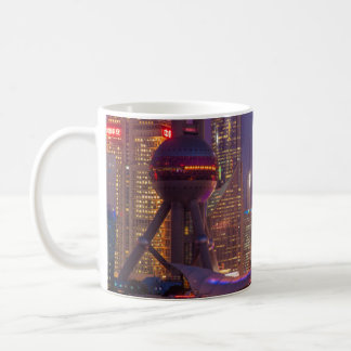 Downtown waterfront shanghai, China Coffee Mug
