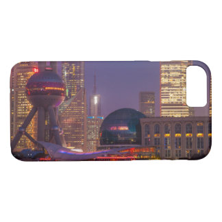 Downtown waterfront shanghai, China iPhone 7 Case
