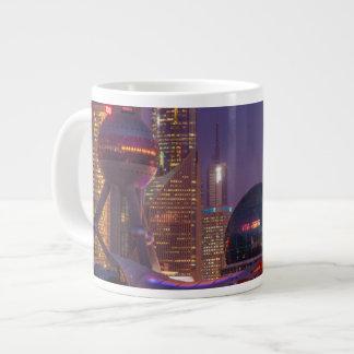 Downtown waterfront shanghai, China Large Coffee Mug