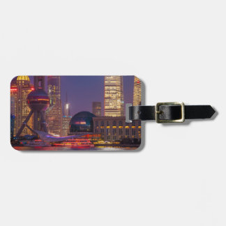 Downtown waterfront shanghai, China Luggage Tag