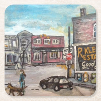 Downtown Willoughby,Ohio Dog Walk Coaster
