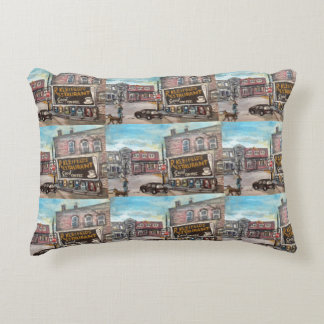Downtown Willoughby, Ohio Dog Walk Pillow