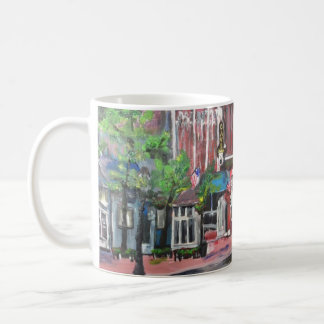 Downtown Willoughby, Ohio Painting on Mug