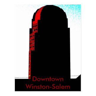 Downtown Winston-Salem, NC Postcard