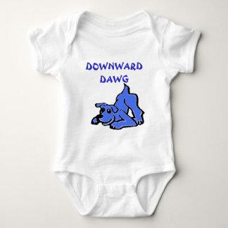 Downward Dawg Baby Bodysuit