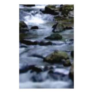 downward flow of creek stationery