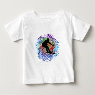 Downward Spiral Baby T-Shirt