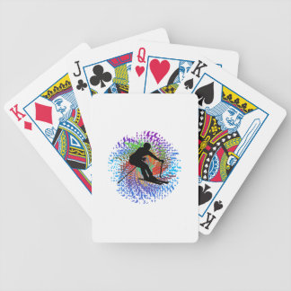 Downward Spiral Bicycle Playing Cards