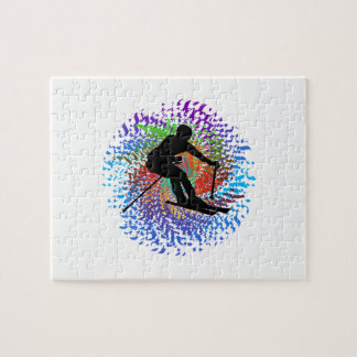 Downward Spiral Jigsaw Puzzle
