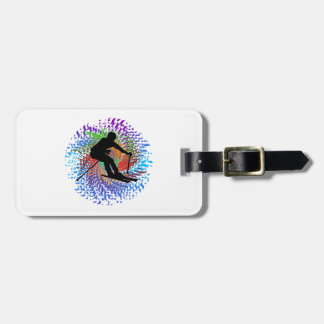 Downward Spiral Luggage Tag